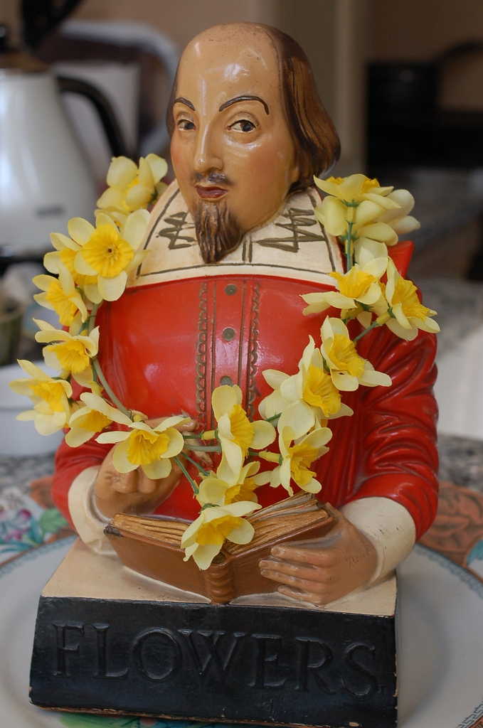Figurine de Shakespeare