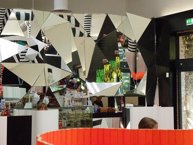Art moderne à partir de miroirs