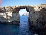 Falaise à Malte