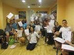 Groupe de jeunes à Malte