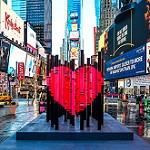 Coeur à New York