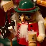 Figurine du marché de Noël