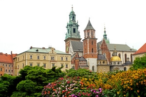Cracovie en Pologne