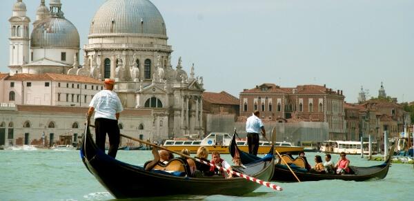 Gondoles à Castello, Venise