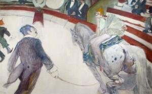 Au cirque de Toulouse, Lautrec