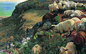 Our English Coasts (1852), William Holman Hunt