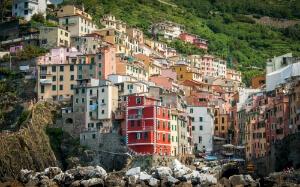 Maisons colorées aux Cinq Terres