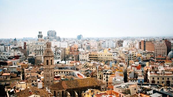 Les toits de Valence
