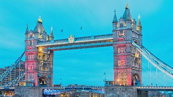 Tower Bridge illuminé