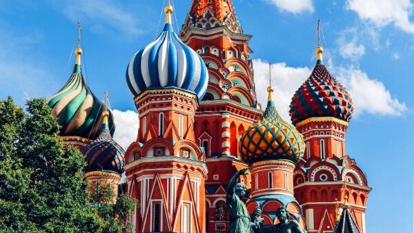 Cathédrale Saint-Basile-le-bienheureux à Moscou