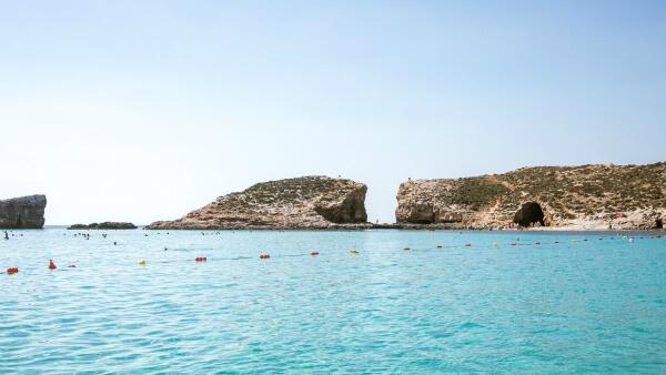 Lagon bleu à Malte