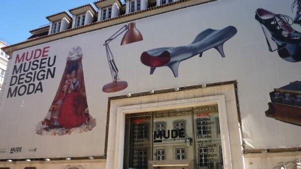 Le MUDE, musée du Design et de la Mode, à Lisbonne