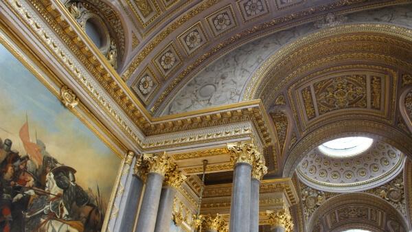 Une des galeries du château de Versailles
