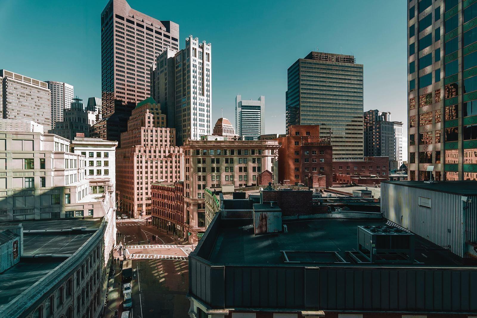 Immeubles Boston