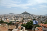 Athens and mount Lybacbettus