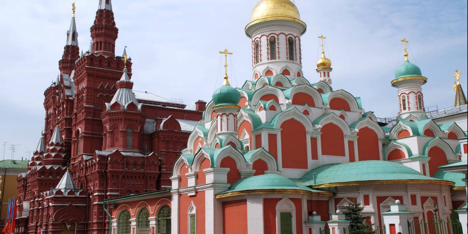 Kazan temple and Historical Muzeum - Moscou